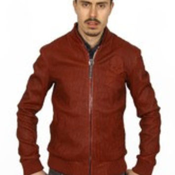 Philipp Plein mens jacket HM211281 BORDEAUX