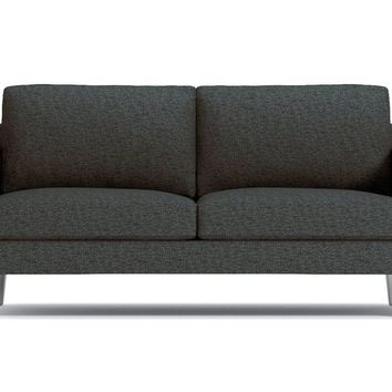 Simpson Apartment Size Sofa in FIREWOOD - CLEARANCE