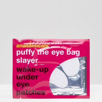 Anatomicals Puffy The Eye Bag Slayer Wake-Up Under Eye Patches at asos.com
