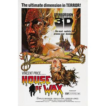 House of Wax Poster//House of Wax Movie Poster//Movie Poster//Poster Reprint