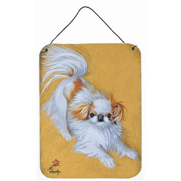 Japanese Chin Red White Play Wall or Door Hanging Prints MH1033DS1216