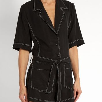Belted cady playsuit | Albus Lumen | MATCHESFASHION.COM US