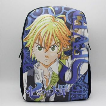 Anime Backpack School kawaii cute Dragon Ball Z The Seven Holy Virtu Backpack Young Men Women Daily Shoulder Backpack Boys Girls School Bags 5 style AT_60_4
