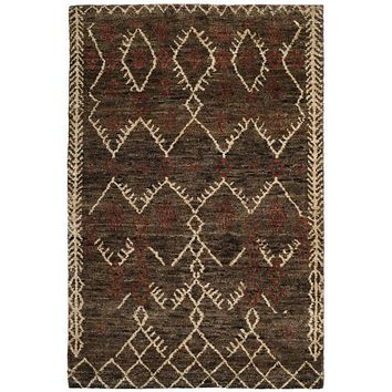 Safavieh Bohemian BOH668A Dark Brown / Multi Rug