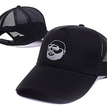 DEBANG Like A Boss Rick Ross Mesh Cap Embroidery Baseball Snapback Mesh Hat
