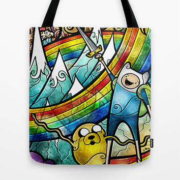 What time is it? Tote Bag by Mandie Manzano