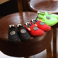 Children Permeable Casual Korean Vans Shoes [4919303108]
