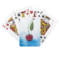 Red cherry berry: The Graduate Playing Cards