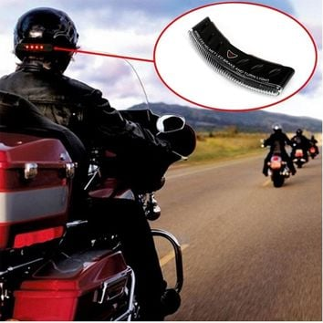 Wireless Motorcycle LED Brake and Turn Light Signals For Helmets