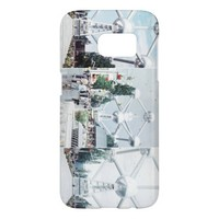 Brussels Atomium Photo Collage Samsung Galaxy S7 Case