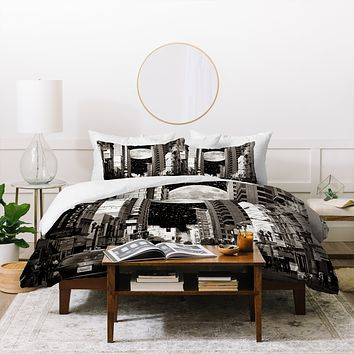 Shannon Clark Night On The Town Duvet Cover