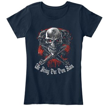 The Bring Our Own Rain - Skull T Shirt