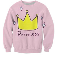 Princess with that sweater