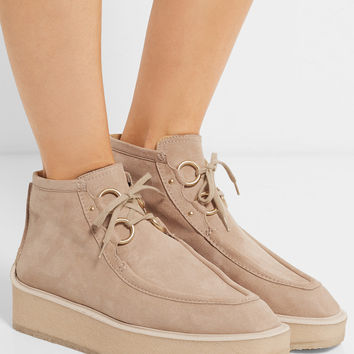 Stella McCartney - Brody faux suede desert boots