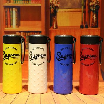 """""""Supreme"""" On Sale Cute Drinks Coffee Innovative Cool Strong Character Stainless Steel Cup [103863746572]"""