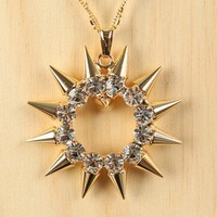 Tribal Sun Necklace