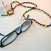 Multi-Colored Bead Lanyard