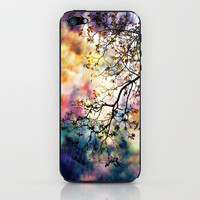 the Tree of Many Colors iPhone & iPod Skin by Caleb Troy | Society6