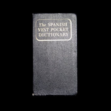 The Spanish Vest Pocket Dictionary