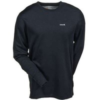 Carhartt Thermal: Men's Black K207 BLK Midweight Crew Neck Thermal Top