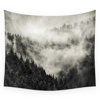 Society6 In My Other World Old School Retro Edit Wall Tapestry