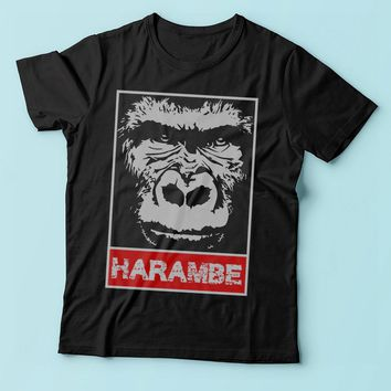 Remember Harambe Obey Inspired Men'S T Shirt