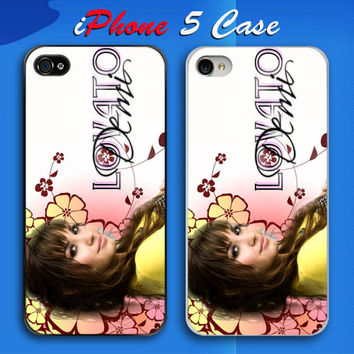Demi Lovato Young Hollywood Stars Custom iPhone 5 Case Cover from namina