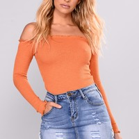 Smock It To Me Top - Amber