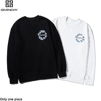 Givenchy fashion sells casual little print hoodies for couples