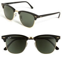Ray-Ban 'Classic Clubmaster' 51mm Sunglasses | Nordstrom