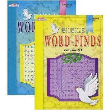Kappa Bible Series Word Finds Puzzle Book 48 Books Set
