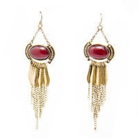 Be Fierce Gold Earrings