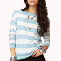 Heathered Stripe Top