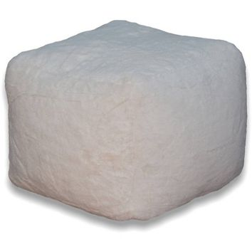 Faux Fur Pouf, Available in Multiple Colors - Walmart.com
