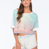 Roxy Sand Step Womens Tee Multi  In Sizes