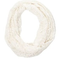 Lace Infinity Scarf by Charlotte Russe
