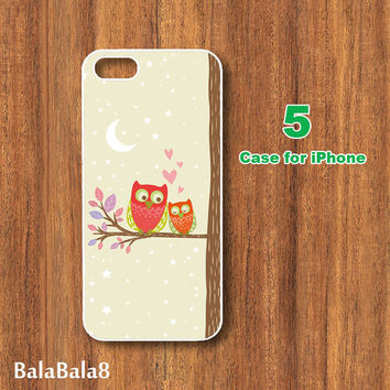 HTC one M7 Case,Owl fall in Love,HTc one case,HTc one S Case,HTc one X Case,HTC one mini case,HTC one phone case
