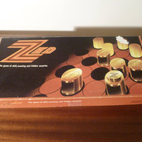 """Vintage 1976 """"Zed"""" Board Game - A Game of Skill, Cunning and Hidden Surprise / Retro Game / JB McCarthy Smurfit Group / Made in Ireland"""