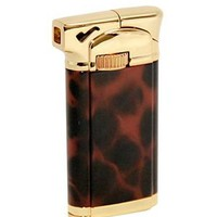 Sherlock Tortoise Shell Pipe Lighter