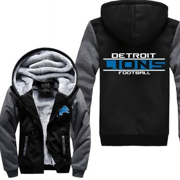 Detroit Lions Fleece Jacket