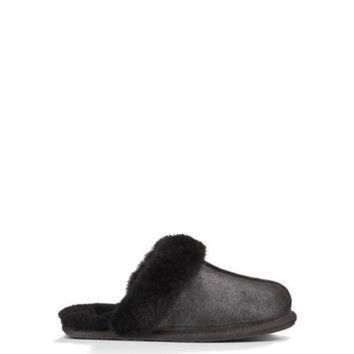 LNFNO UGG? Official   Women's Scuffette II Luster Slippers   Beware of Fakes