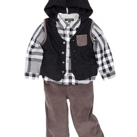 Wendy Bellissimo | Vest, Shirt, & Pant Set (Baby Boys) | Nordstrom Rack