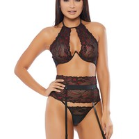 Enticed Garter Belt Set