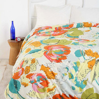 Urban Outfitters - Floral Watercolor Duvet Cover