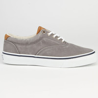 Sperry Top-Sider Striper Cvo Mens Shoes Salt Washed Grey  In Sizes