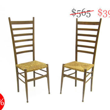 30 OFF SALE Pair of Vintage Gio Ponti Style by HousingAuthority