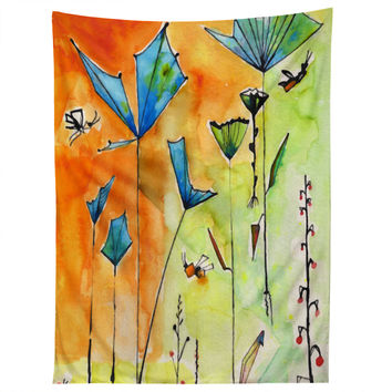 Ginette Fine Art Miro Poppy Land Tapestry
