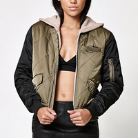 Members Only Diamond Quilted Bomber Jacket at PacSun.com