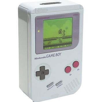 Nintendo Game Boy Tin Money Box
