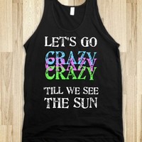 Let's Go Crazy - Live While We're Young